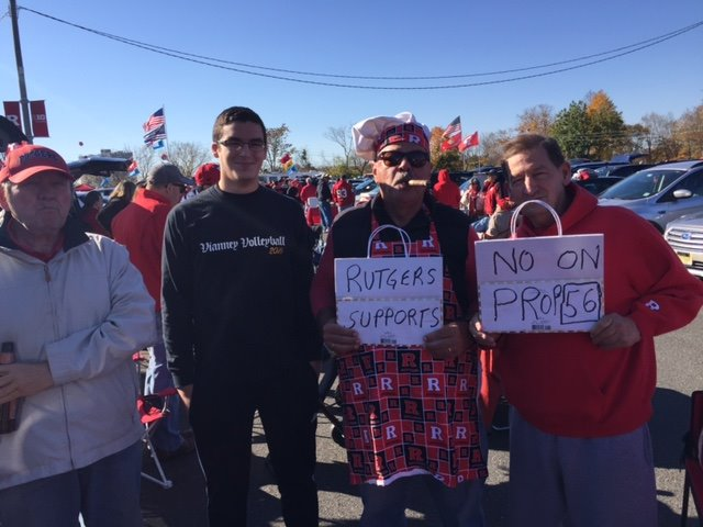 "Rutgers says ""NO"" on 56"