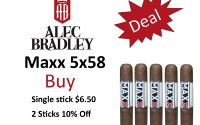 Alec Bradley Maxx 5×58 Deals