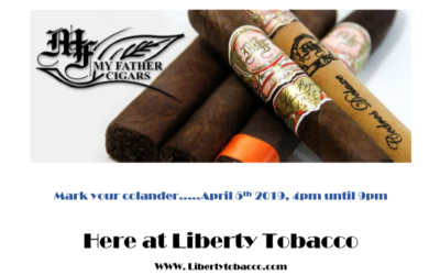 My Father's Cigar Event – April 5th, 2019